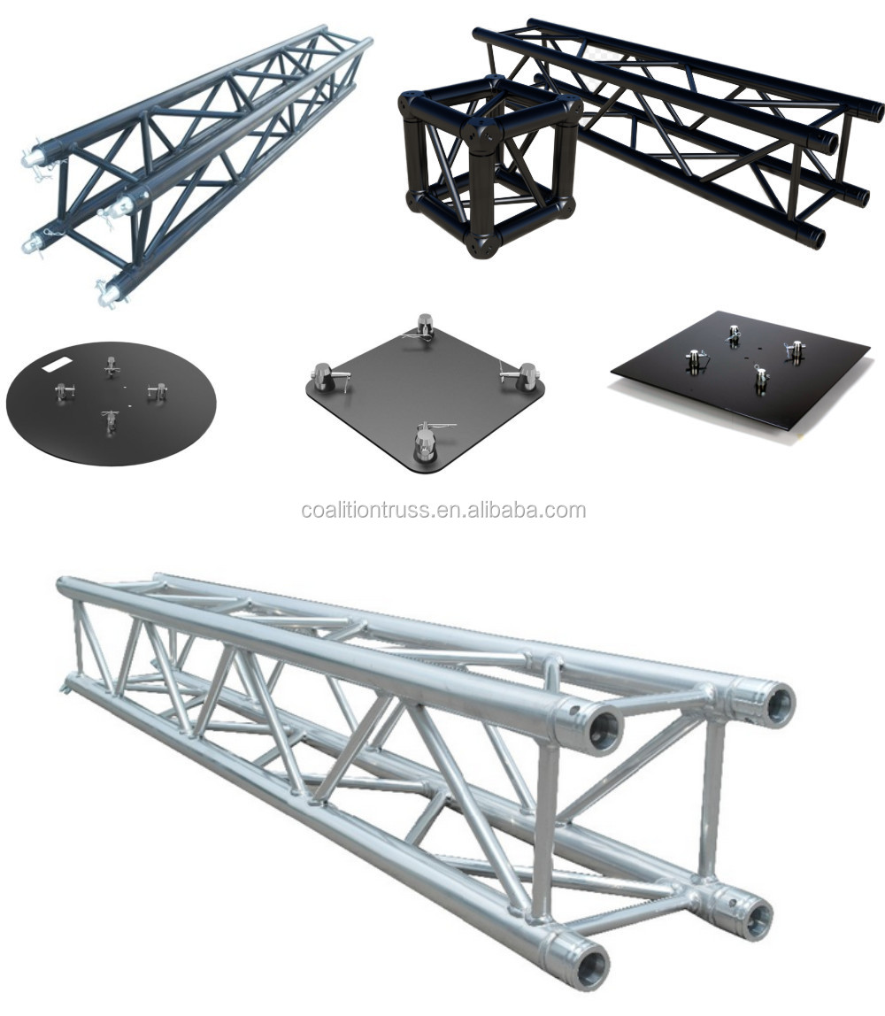 2016 on sale aluminum lighting truss roof truss aluminum for Cheap trusses for sale
