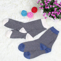 Ideas gauze stockings warm socks Coarse needle stockings wool socks