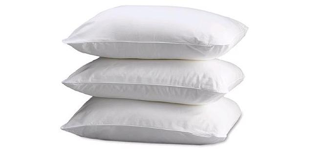 Filled Pillows, Compressed Pillows