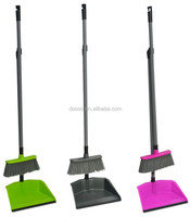 2016 new design easy clean dustpan and broom set