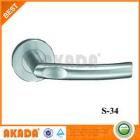 stainless steel lever door handle for inside door