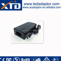 universal switching power adapter 110v ac to 29v dc power supply 2a 58w with CE UL