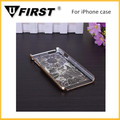 Flower case for iphone, crystal case for iphone