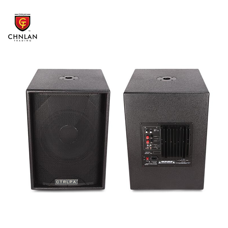 Chnlan Professional stage active subwoofer 12 inch speaker box
