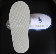 Washable hotel guest slippers