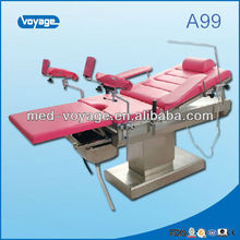 Medical Equipment electric massage table electric delivery bed