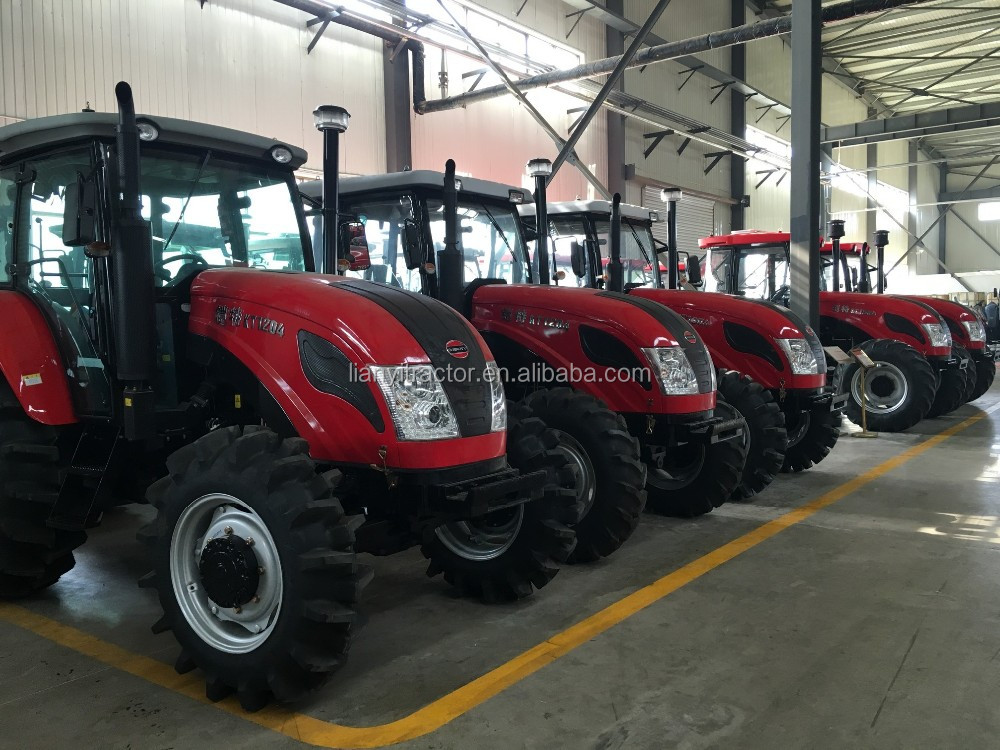Low Price 130HP 4WD LY1304 Tractors Products with Fenders from China Suppliers for Sale