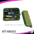 Check pattern case 6PCS makeup manicure set