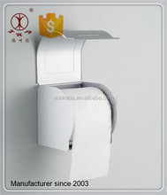 Metal Aluminium Satin Finished Toilet Waterproof Paper Roll Holder