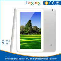 Cheap quad core 9 inch Tablet PC Shenzhen OEM ODM Dual camera Android 4.4 capacitive WIFI tablet pc sex power tablet