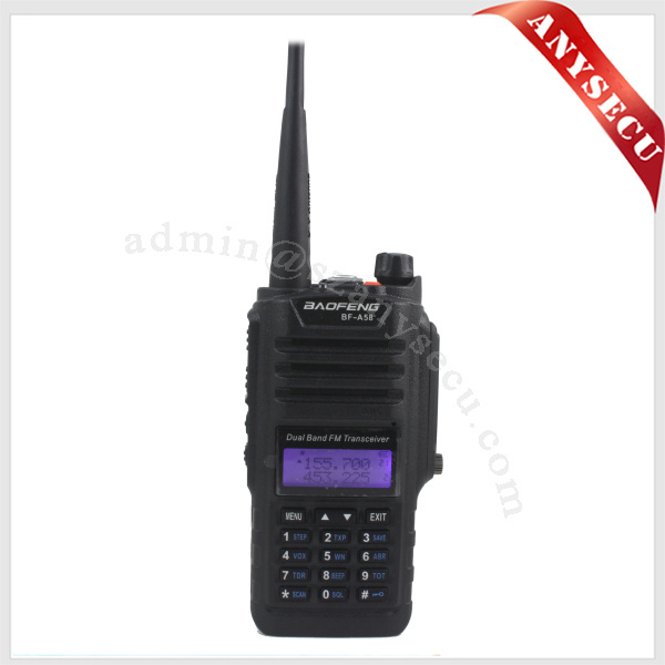 2015 NEWEST dual-band BAOFENG Transmitter Receiver BF-A58 Portable Two-way Radio