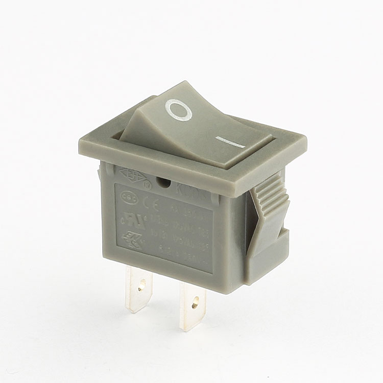 shanghai 6a 10a 250v 2 pin spst on off kcd3 rleil rocker switch t105