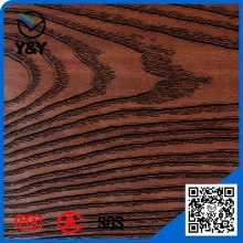 Thickness 0.12mm -0.45mm wood grain PVC decorative film for doors and windows