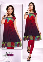 Wholesale Ladies Tops-party wear Georgette tunics-Bollywood Fashion Kurti