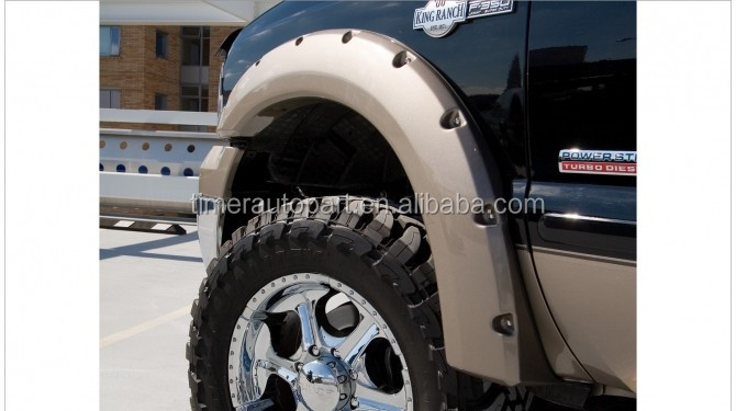 100%Hotsales 4x4 truck Accessories FOR 1999-2007 f350 fender flares