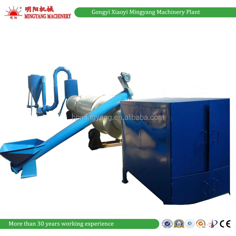 Energy Saving the most popular leaves dryer /wood chips dryer /sawdust rotary drum dryer