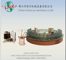 fully automatic robotic-hand controlled injection polyurethane shoe footwear soles banana machine