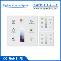 with light dimmer zigbee wireless led track lighting remote control