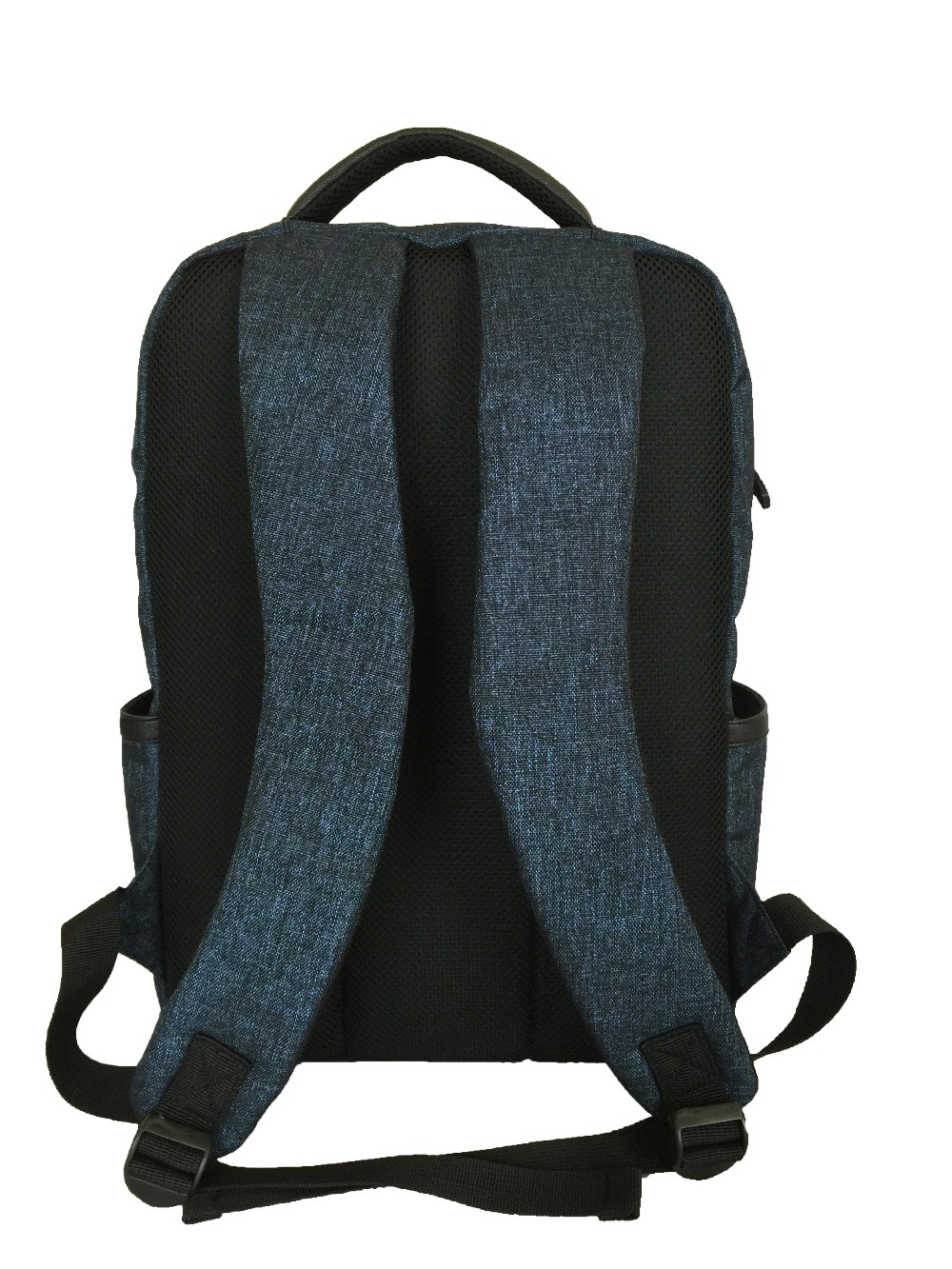 High quality shinning fabric durable daily backpack for 14 inch laptop