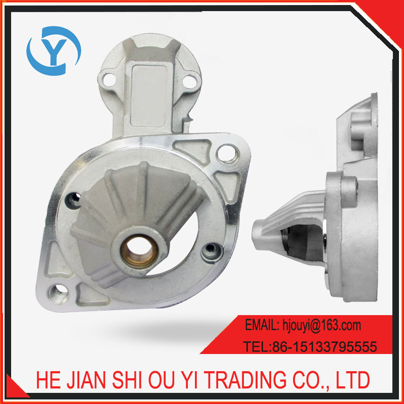 Aluminum die casting auto engine parts for 0.8kw 12V motor stater