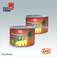 LARI Brand 454g pineapple canned pieces in light syrup