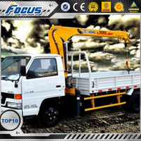 Engineering & Construction Machinery Truck Mounted Crane knuckle boom type