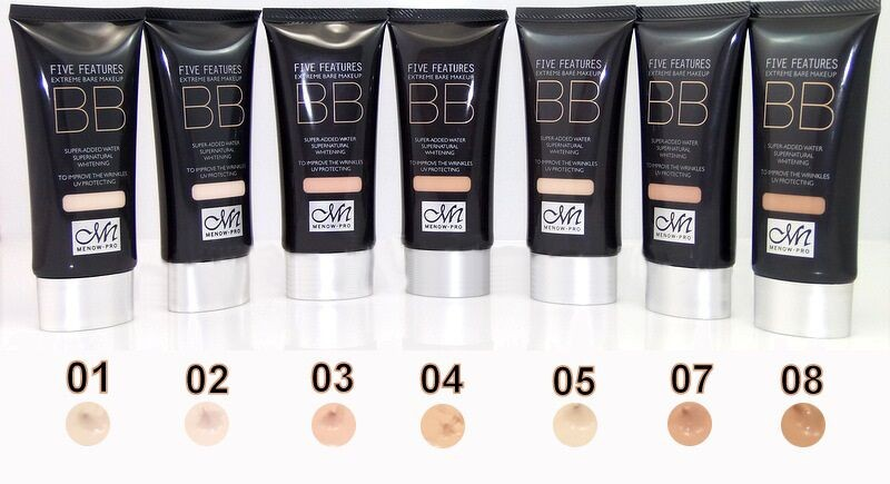 Menow F13009 moisturizing cream foundation BB cream