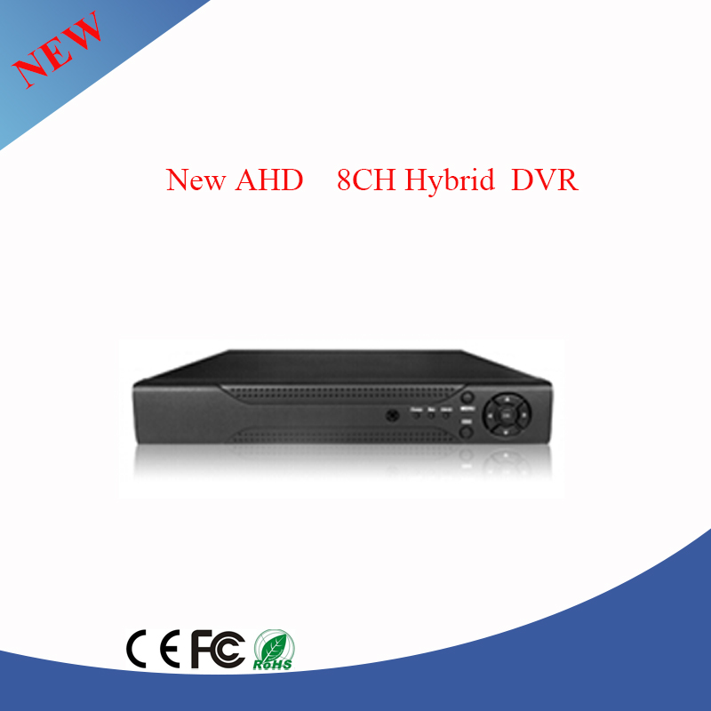 8ch 960h hd ahd hibird DVR for IP camera analog camera and ahd camera