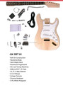 Electric guitar semi kit GK SST 01