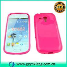 TPU back case cover for samsung galaxy s duos s7562