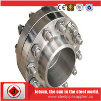 RTJ FLANGE, AND MATERIAL IS DUPLEX 2205 SS ACCORDING TO UNS 31803,