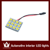 Wholesale White 5050 Chip LED 36smd Car Interior Light T10 Festoon Dome Adapter 12V Car LED Panel light