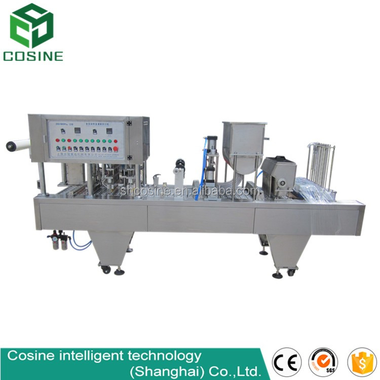 cup filling machine water