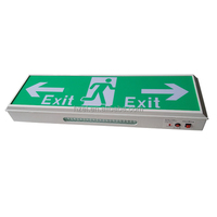 15pcs SMD 2835 LED Recahargeable Emergency Exit Sign For 3 Hours
