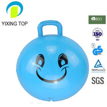 Kids popular toys Square handle hopper ball