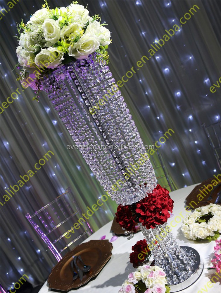 Wedding decoration crystal centerpieces wholesale table for Buy wedding centerpieces