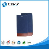 China Supplier manufacture pu leather bookstyle case with stand function For Apple Phone