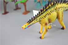 pvc dinosaur animal vinyl figure/wild plastic animals figure /custom animal toys for kid