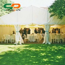 Elegant cheap wedding marquee tent with linings decorations for sale
