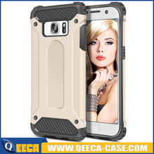 Have Stock!10 Colors 2 layer TPU+PC Combo cell phone Rugged armor case for samsung s7 edge case shockproof S6 S6 edge/S4/S5