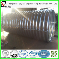 metal corrugated tube, large diameter steel tube for facility construction
