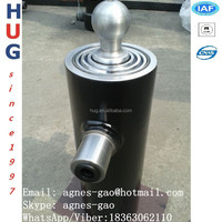 Hydraulic lift dump telescopic hydraulic trailer jack