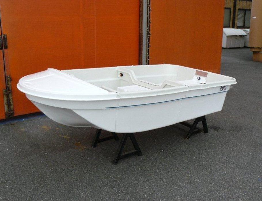 3 Block Small Dinghy Fiberglass Fishing <strong>Boat</strong> 2.55m