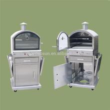 High Efficiency terracotta pizza oven with CE certificate