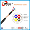 Owire multi-cores BC conductor insulation AL foil bare copper braiding PVC jacket electric wire cable
