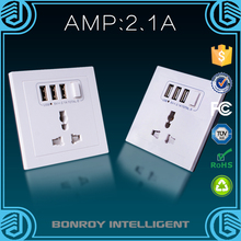 High quality good reputation 13 amp electric Australia wall socket with switch