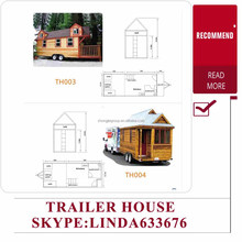 Eco Residential Cabin Trailer House on Wheels