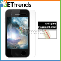 Explosion proof matte screen protector with design for iPhone 4
