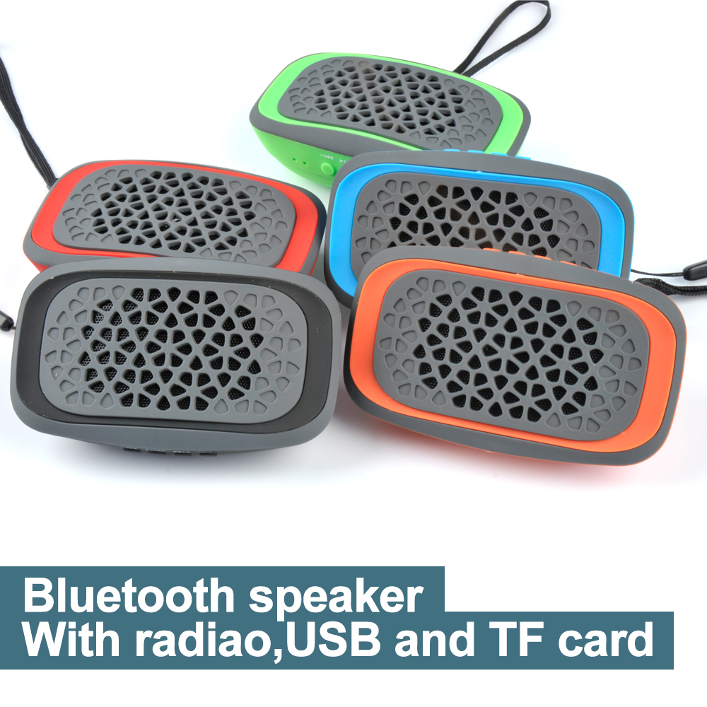 Portable Bluetooth Stereo Wireless Speaker Hifi Bass Sound Box USB SD Card FM woofer outdoor sports boombox bicycle Speaker