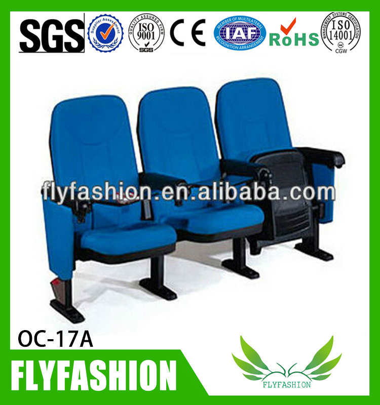 Furnitue Guangzhou chair hot sale auditorium chair/cinema chairs prices/auditorium seat OC-17A